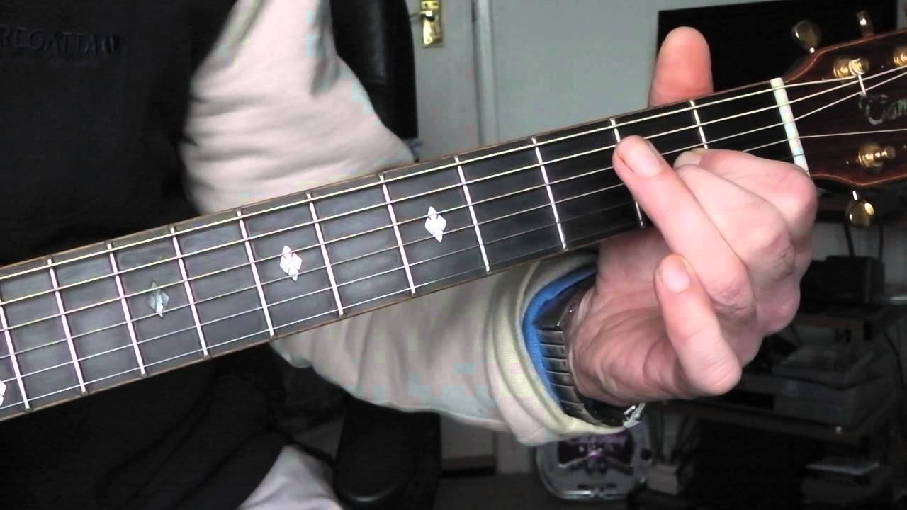 Play u0026#39;Chain Letteru0026#39; by Todd Rundgren. Guitar chords explained. - YouTube