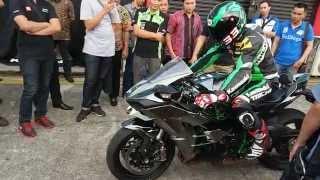 Kawasaki Ninja H2 Test Sentul Indonesia thumbnail