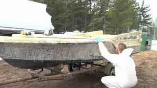 Boat Restoration~ 1958 Glass Magic Playmaster