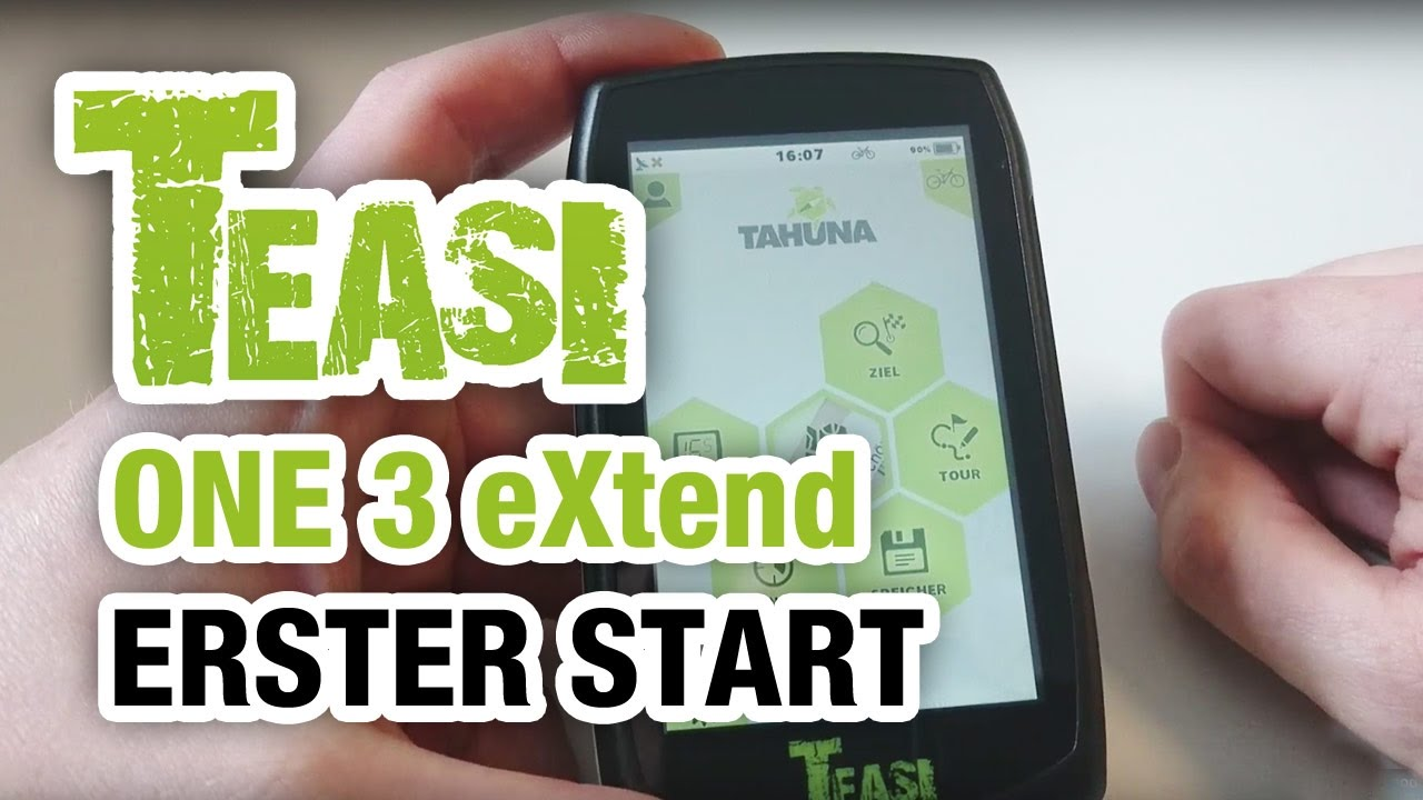 teasi one 3 extend  TEASI ONE 3 eXtend Anleitung STARTHILFE | Bike-Packing.de - YouTube