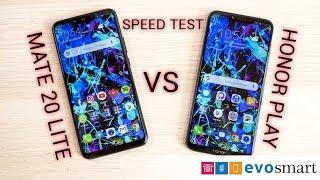 Huawei Mate 20 Lite VS Honor Play   Kirin 970 VS Kirin 710 SPEED TEST