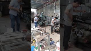 Xưởng cơ khí tuy nhỏ nhưng gia công cho Sanyo, Cadivi...