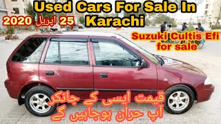 Used Cars for sale in Karachi •Suzuki Cultus Efi •Suzuki Cultus Vxl•Suzuki Cultus Vxr...