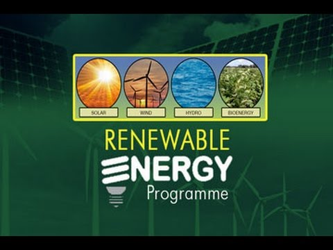 GIS Report - Renewable Energy Programme