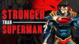 How STRONG Is Superboy Prime DC Comics