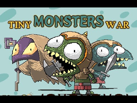 tiny monster war walkthrough youtube