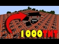 Can 1000 TNT blow notch Head??! (mob mode)