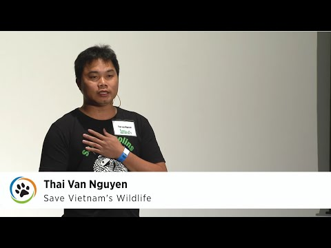 Save Vietnam's Wildlife (pangolin) · Thai Van Nguyen · SF Expo 2015