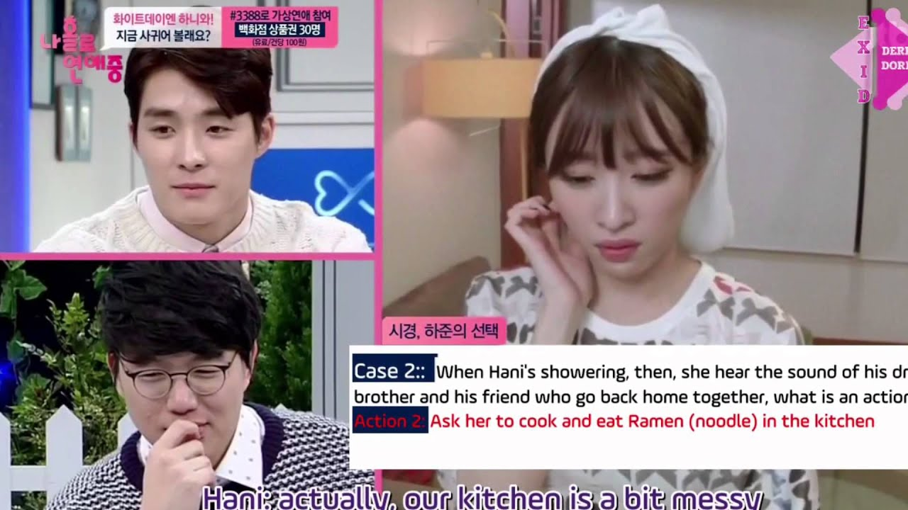 Player level Alone Exid Eng Sub Dating Hani Halliday, who