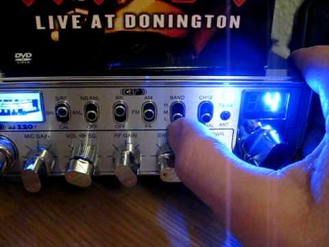 CRT superstar ss120T cb radio. modificated to 120 channel & 10watt