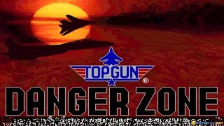 Top Gun Danger Zone gameplay (PC Game, 1991)