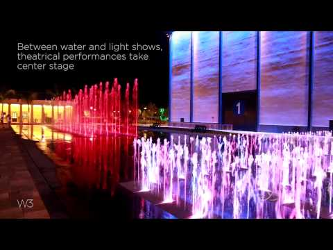 Cinecitta World, Rome, Italy - Crystal Fountains