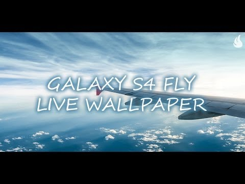 Galaxy S4 Fly Live Wallpaper