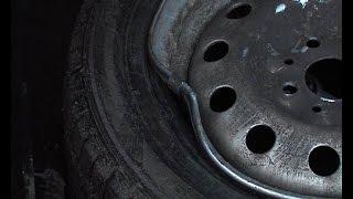 Правка восьмерки на стальном диске