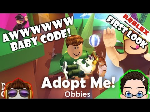 Roblox - Adopt Me - First Look Im a Baby Code!