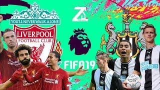 FIFA 19 - ลิเวอร์พูล VS นิวคาสเซิล -  พรีเมียร์ลีกอังกฤษ[นัดที่5]