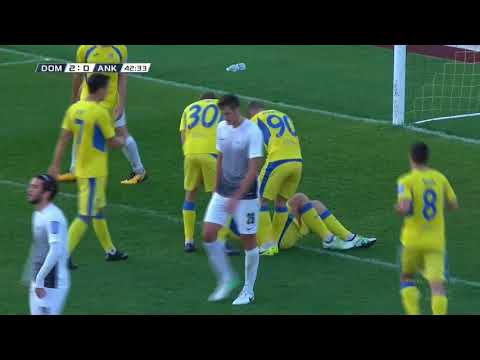 12. krog: Domžale - Ankaran 6:0 ; Prva liga Telekom Slovenije 2017/18