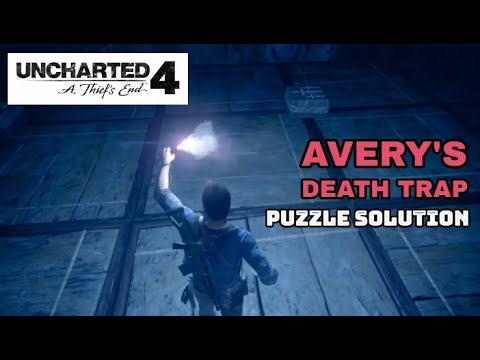UNCHARTED 4 - DEATH TRAP PUZZLE SOLUTION and DEATH SCENE