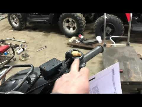How to: Honda Rancher Electronic Shift Troubleshooting TRX400FA