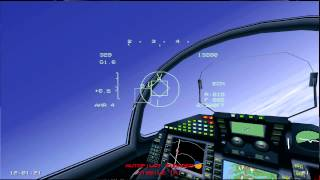 EF2000 vs 3 F16s