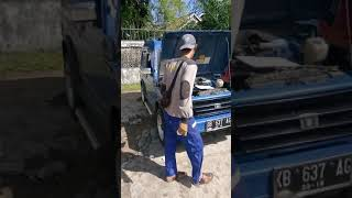 Letak nomor rangka mesin SUZUKI KATANA 2WD