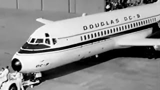 "Douglas DC-9 Series 10 - ""Rollout & First Flight"" - 1965"