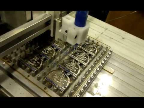 Soft Enamel Lapel Pins /Paint Coloring Dispensing Machine   YouTube