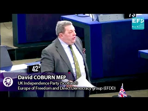 EU taxpayers money funding one of the most corrupt countries on earth - David Coburn MEP