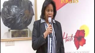 Le Ministère du Tourisme a remis un chèque de 40.000 dollars US à l'IFORHT des Cayes.