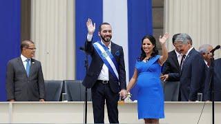 Jura el cargo el presidente más joven de El Salvador