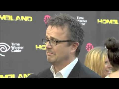 Sean Callery at Homeland Premiere- Live on the Red Carpet
