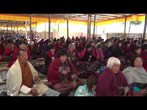 Bhutan Jakar Tempel Fest  by Global Vision