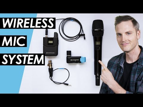Wireless Microphone System Setup - Sennheiser AVX Wireless Mic Review