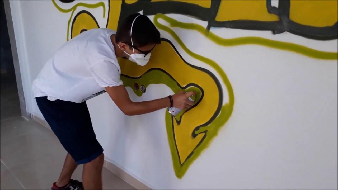 Odamın Duvarına Graffiti Yaptım!
