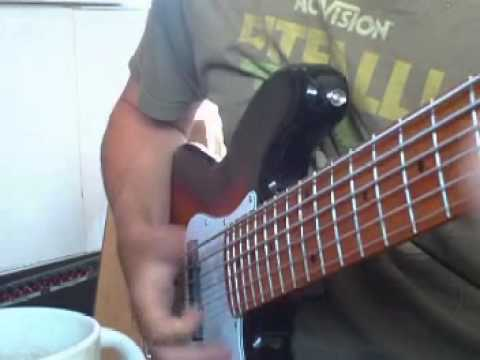 sx ursa 2 mn 6 3ts 6 string bass slap demo youtube. Black Bedroom Furniture Sets. Home Design Ideas