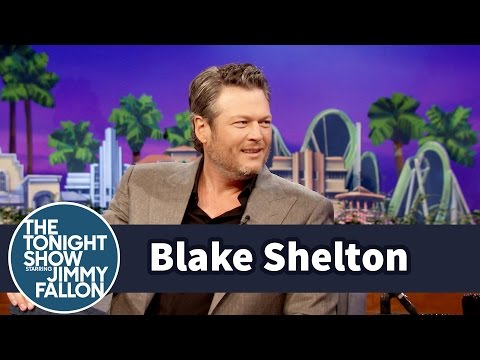 Blake Shelton Nearly Puked on Jimmy's Tonight Show Ride