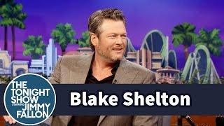 Blake Shelton Nearly Puked on Jimmy