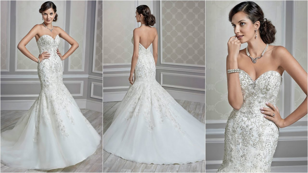 2019 year style- Wang Vera mermaid wedding dresses