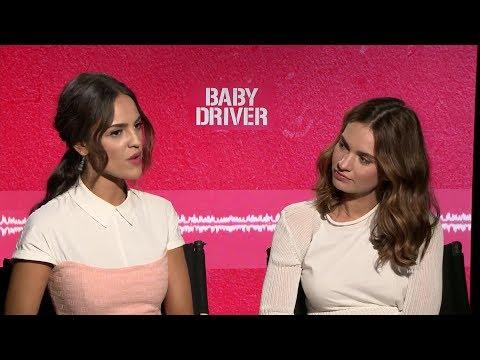 Baby Driver  Lily James & Eiza González