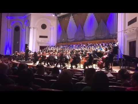 Пасхальный концерт в Ереване