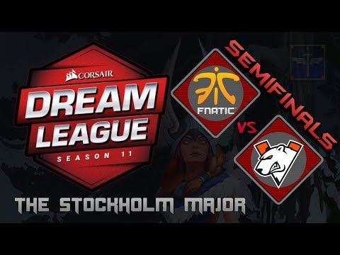 Fnatic vs Virtus.Pro / SemiFinals / Bo3 / DreamLeague Season 11 Stockholm Major  / Dota 2 Live thumbnail
