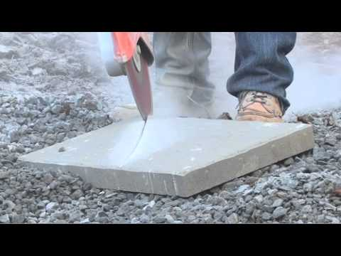 How To Install Belgard Pavers: Step 9   How To Cut Pavers U0026 Paving Stones    YouTube