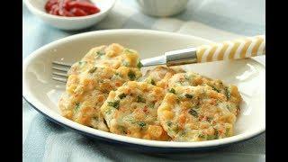 옥수수전 초간단 옥수수요리 : Korean Sweetcorn Pancakes [밥타임]