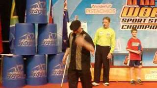 World Sport Stacking Championships - Tricks and more acts and more stuff...