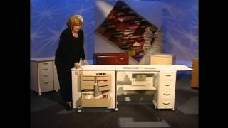 Sewing Machine Cabinet - Horn Of America - Model 3156 Lainecouturedecor.com