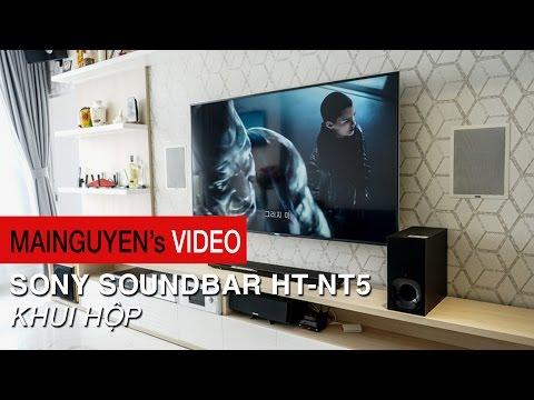 Khui hộp Sony Soundbar HT-NT5 - www.mainguyen.vn