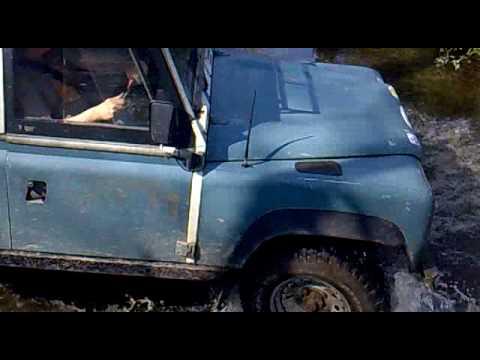 Borg4x4 Defender Hybrid fording in Herefordshire