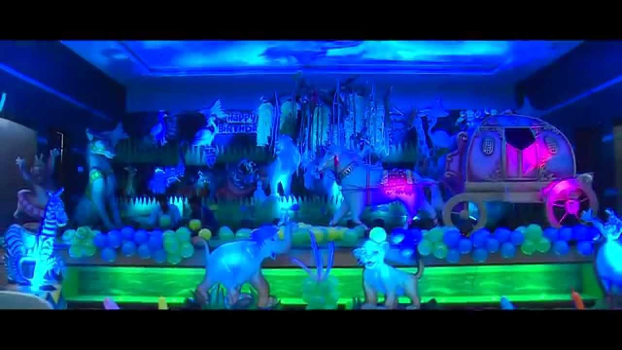 Jungle Themed Birthday Party Shresta Gottimukkala by Aica Events