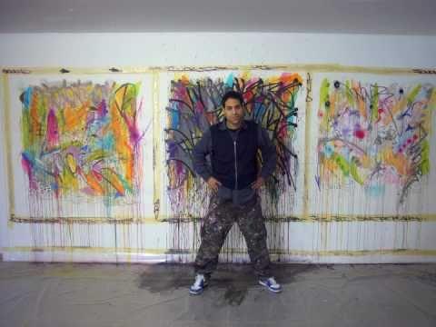 trailer exposition Jonone @ Speerstra Gallery 2010 / Switzerland