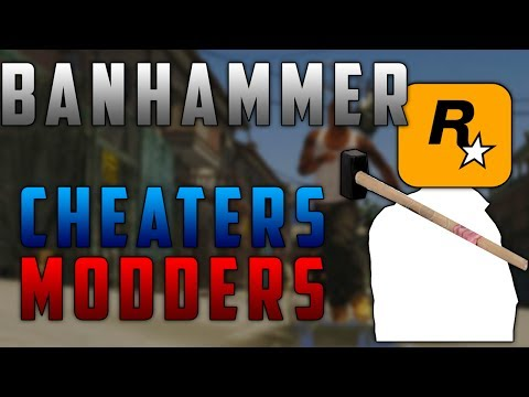 Cheaters and Modders Getting BANNED in GTA 5 Online!